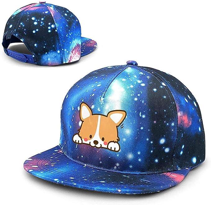 Perro de Dibujos Animados Unisex Starry Sky Gorras de béisbol ...