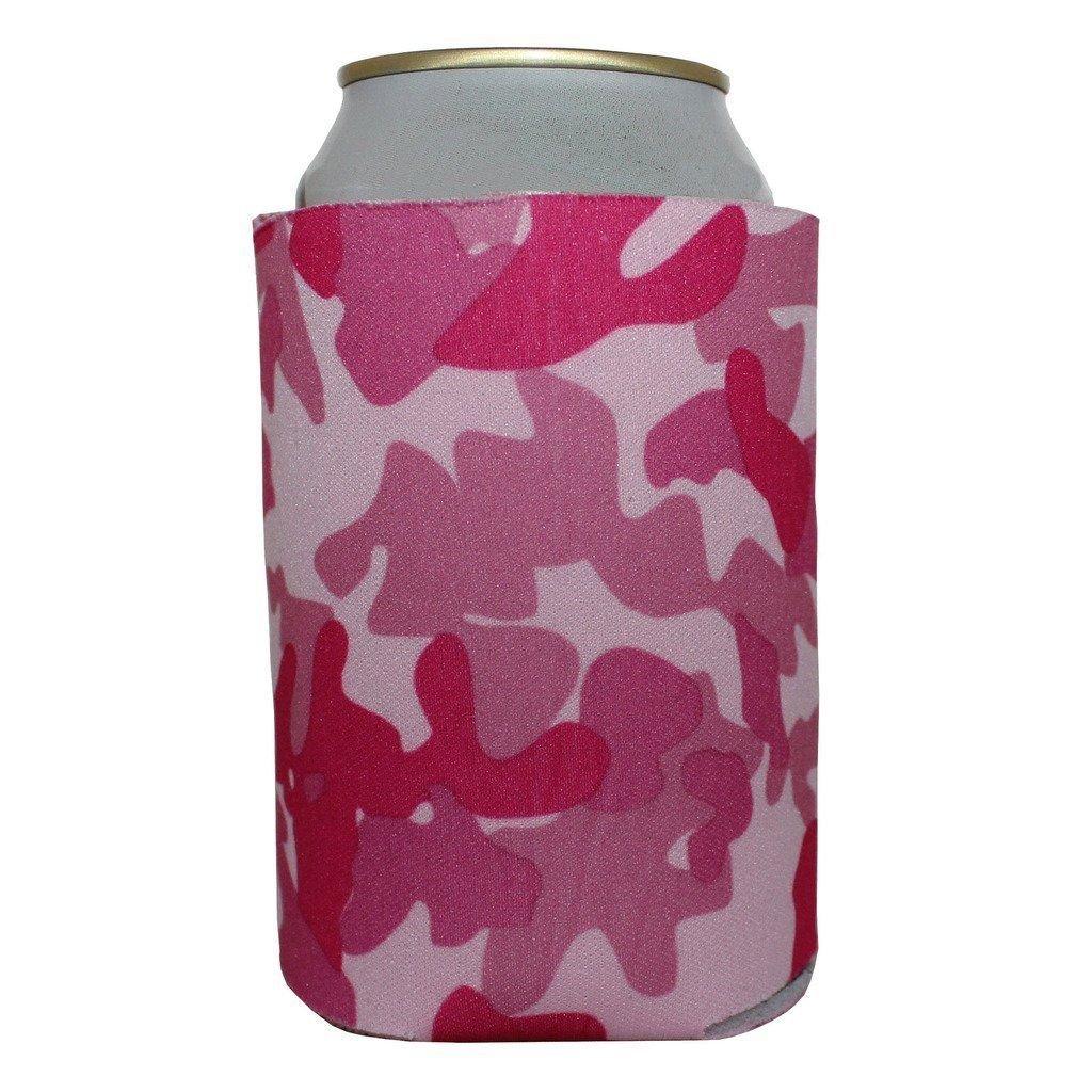 ( 30 )プレミアム空白Beverage Insulator Can Cooler for Sodaとビール B07C329VB1 ピンク迷彩 ピンク迷彩