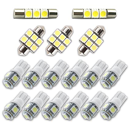 Good Amazon.com: For Toyota 4Runner Led Interior Lights Led Interior Car Lights  Bulbs Kit 2003 2018 White 17Pcs: Automotive