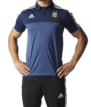 Adidas National Team 2015 Argentina Polo m33287, Azul Marino, Medium: Amazon.es: Deportes y aire libre