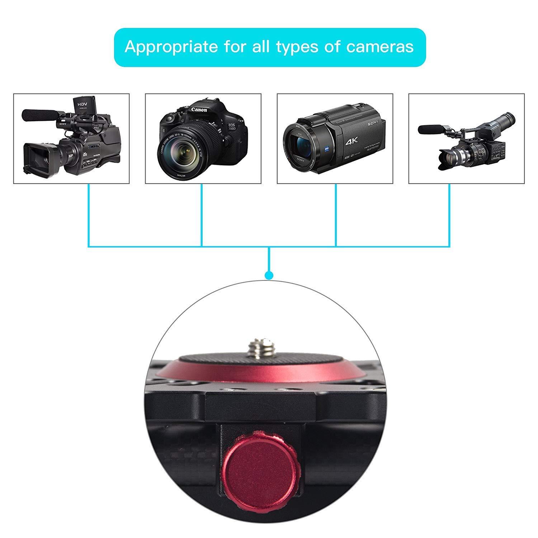 ZOMEi - Barra estabilizadora de vídeo Deslizante para cámara ...