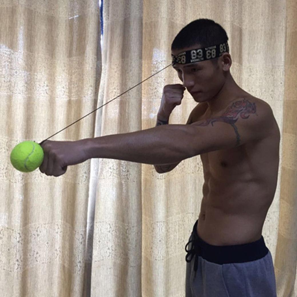 samLIKE Kampf Ball mit Kopfband f/ür Reflex Speed Training Boxen Boxen Punch /Übung