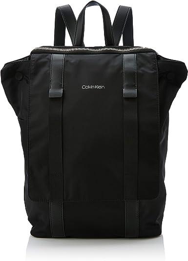 Calvin Klein Braced F Backpack, Sacs à dos homme, Noir