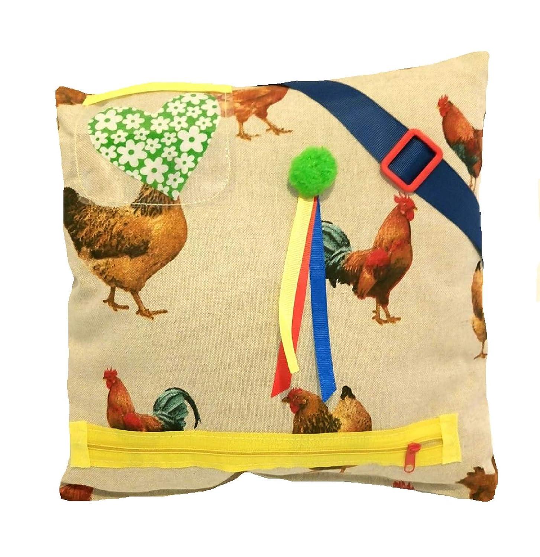 sensorische Aktivit/äten f/ür Senioren Fidget Pillows H/ühner