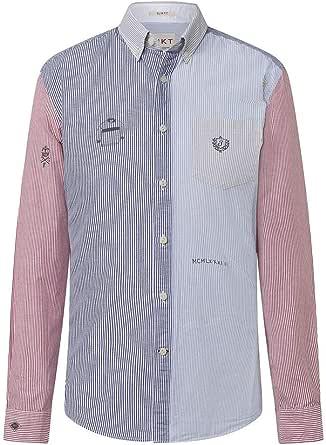 Hackett London Hkt Bengal Mix Str Camisa para Hombre