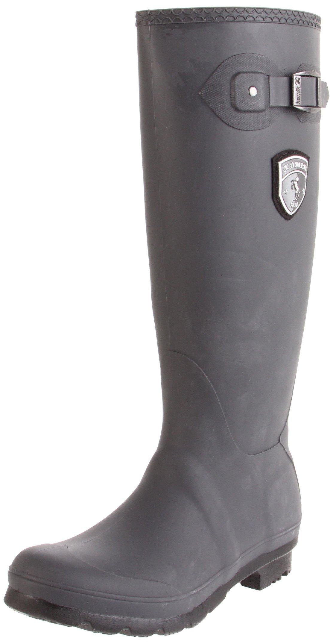 Kamik Women's Jennifer Rain Boot,Charcoal,10 M US