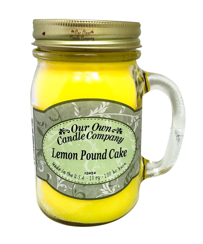 Lemon Pound Cake Jar-Candle