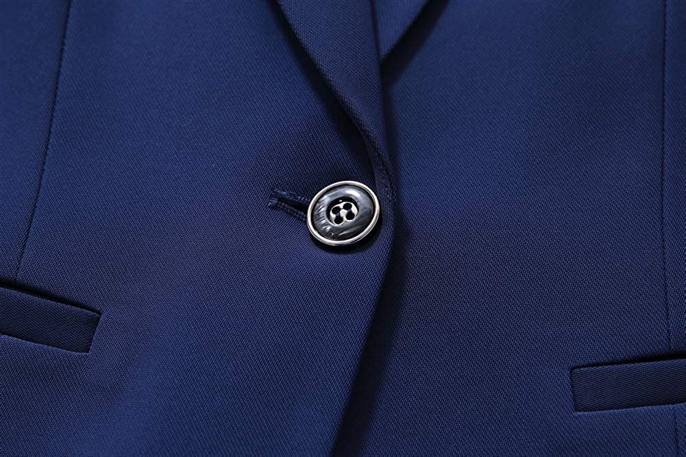 SK Studio Damen Elegant Business Anzug Set Slim Fit Klassischer Taillierter Blazer und Rock Hosenanzuge