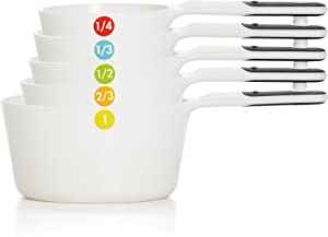 OXO Good Grips 6-Piece Plastic Measuring Cups- White