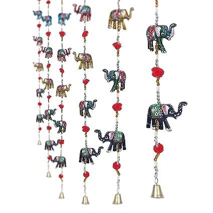 Amazon Com Eakvya Set Of 2 Decorative Elephant Door Hangings