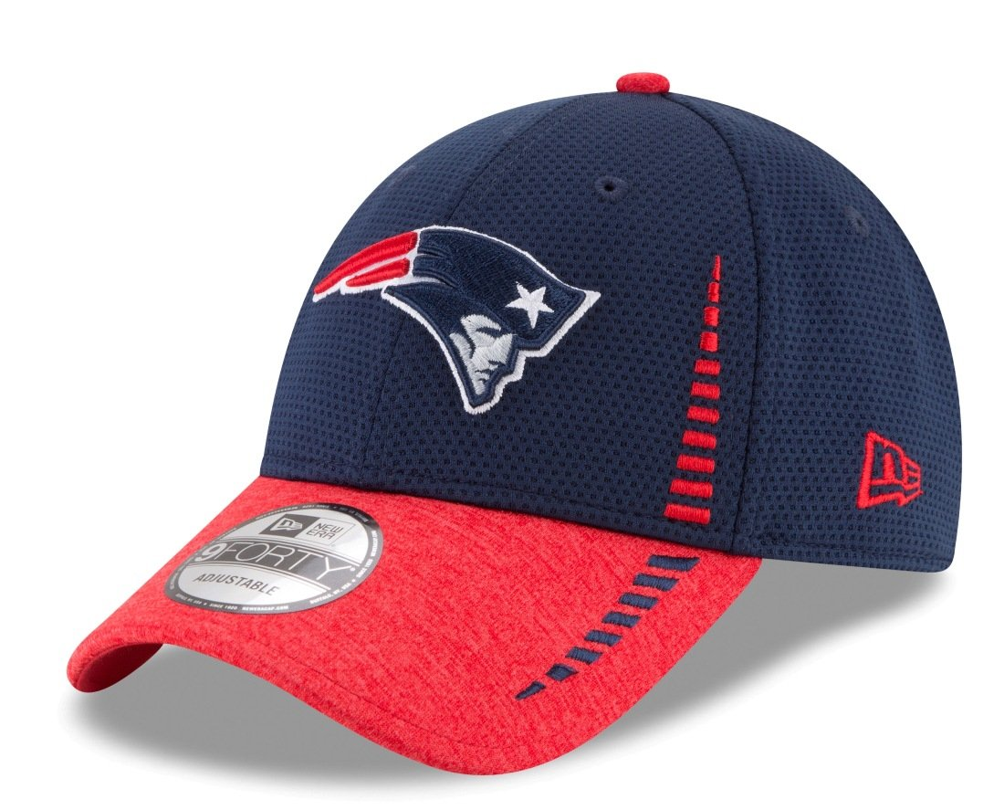 outlet store 68b5c ac6a5 Amazon.com   New England Patriots New Era 9Forty NFL Speed Tech 2  Performance Adjustable Hat   Sports   Outdoors