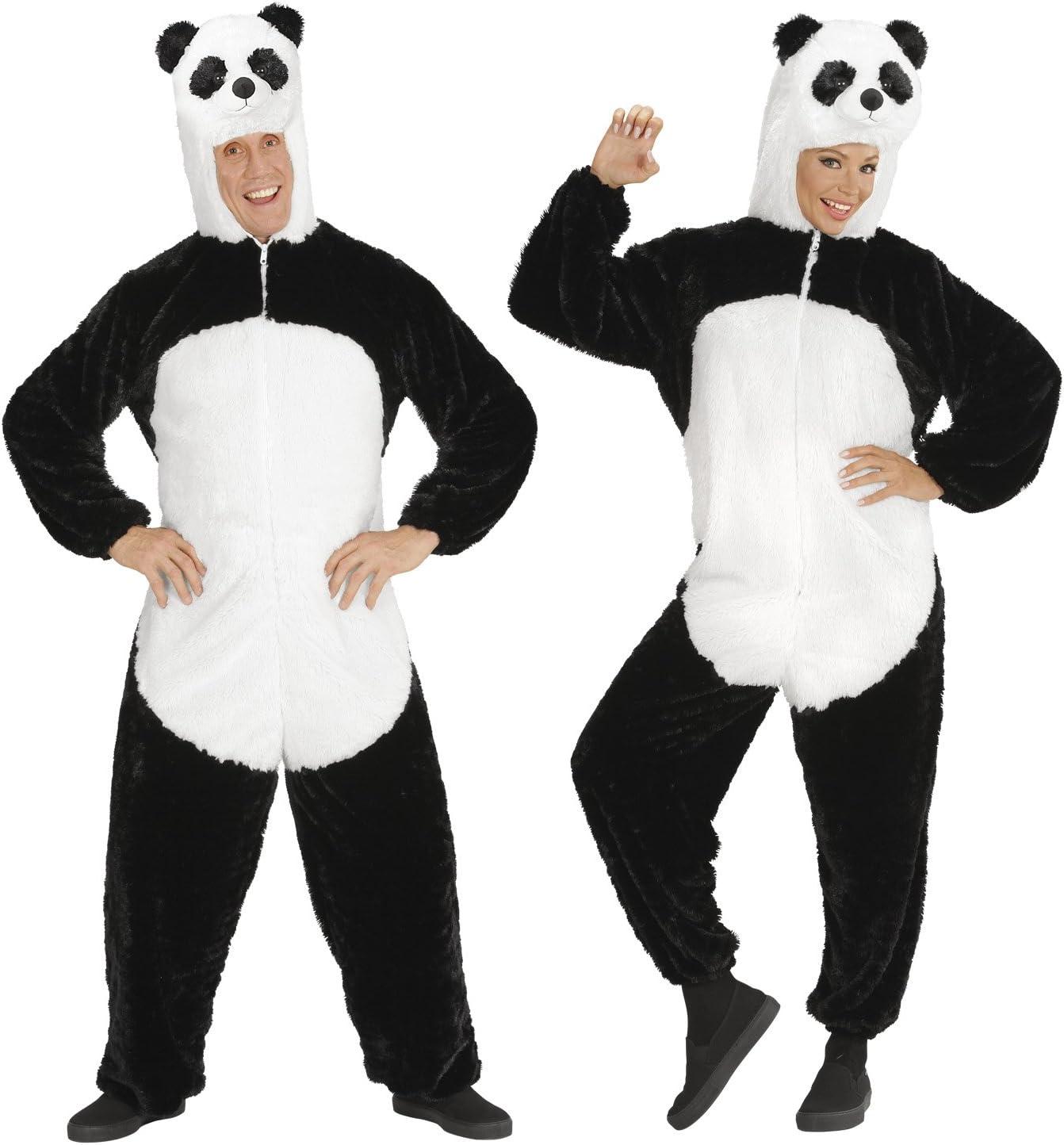 WIDMANN wdm97120 ? Disfraz oso panda de peluche, negro, large ...