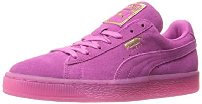 3b7a4a6a7af3 Puma Women's Suede Classic ICED WN's Fashion Sneaker, Rose Violet-Gold, ...