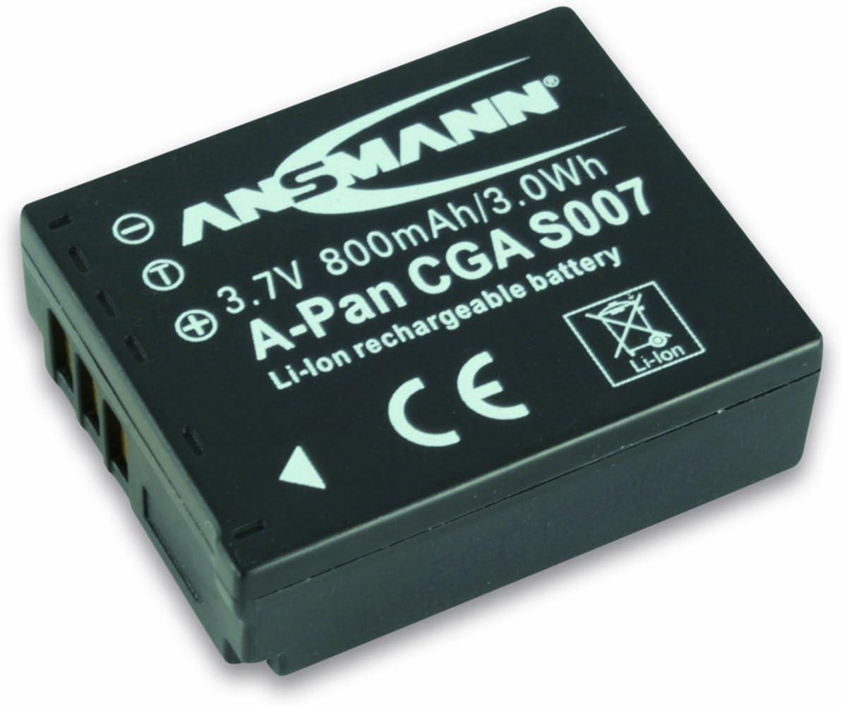 Ansmann 5022963 Panasonic Cga S 007 E Kamera