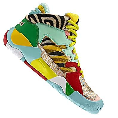 ac6af6a03a6c adidas Originals JS Street Ball Jeremy Scott oBYo Boots Sneaker Trainers  Q23513 Tiger - Multicolour