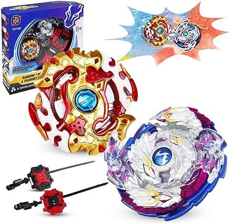 infinitoo 2er Set Kampfkreisel Battling Tops 4D Fusion Modell 2er Set 2er Set