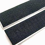 "Electriduct 1/2"" Self Adhesive Hook & Loop Sticky Back Tape Fabric Fastener - 25 Feet"