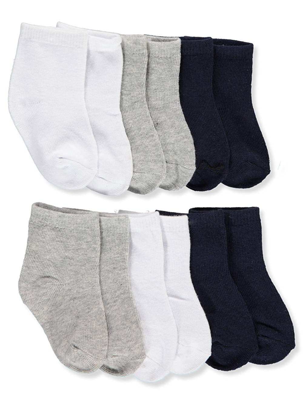 So'dorable Baby Boys' 6-Pack Crew Socks 6-12 Months So'dorable