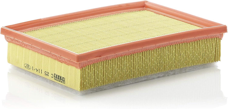 Original Mann Filter Luftfilter C 25 114 1 Für Pkw Auto