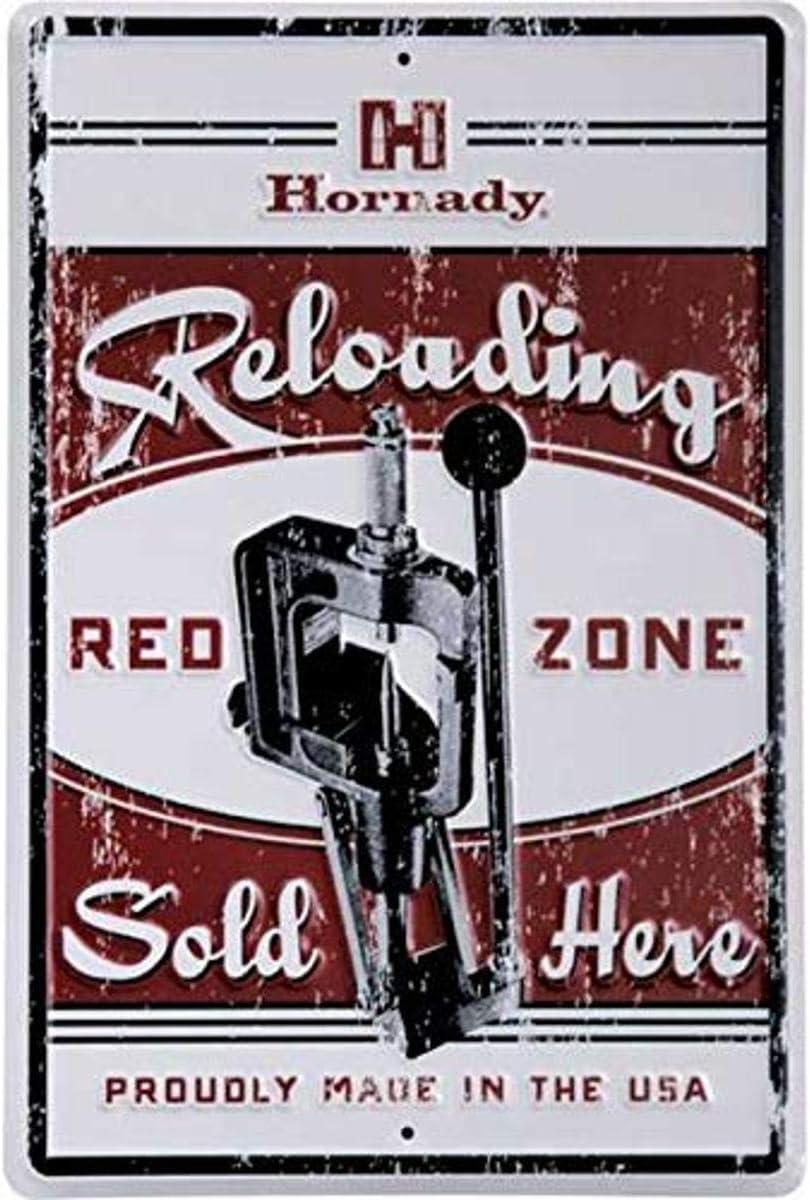 Hornady Reloading Redzone Tin Sign (99130)