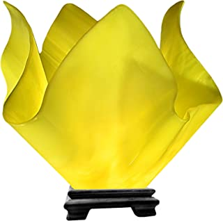 product image for Jezebel Radiance VALA-FP16-CAN Flame Vase Lamp, Large, Canary Yellow