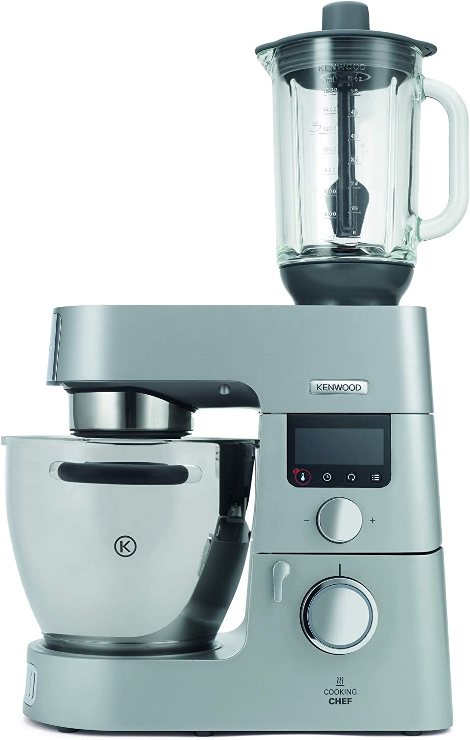 Kenwood KAH358GL Accesorio Batidora de vaso Thermoresist compatible con Robots de Cocina Kenwood Chef y Major, 1.6 L, transparente y negro: Amazon.es: Hogar