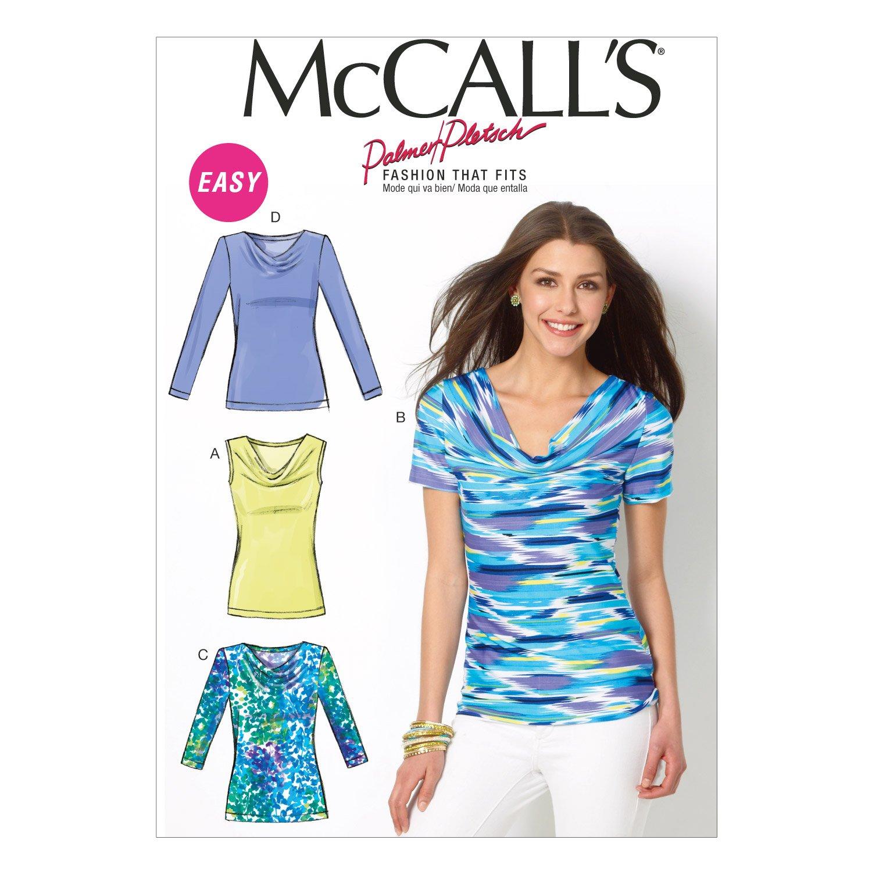 McCalls MC 6963 B5 (8-10-12-14-16) Schnittmuster zum Nähen, Elegant ...