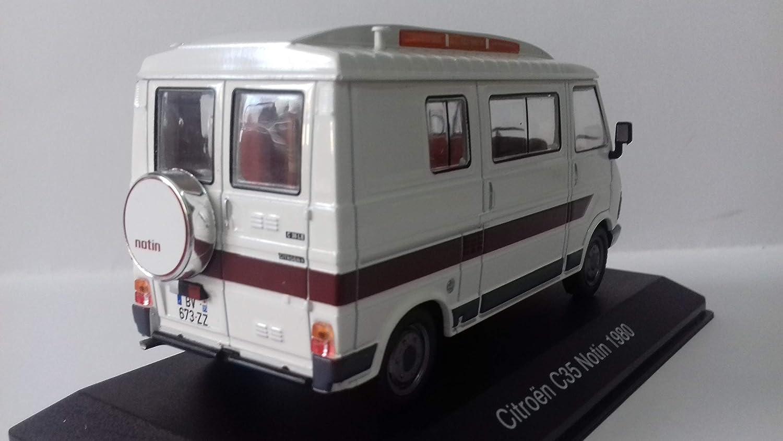 Desconocido 1//43 Autocaravana Camping Car Citroen C35 NOTIN