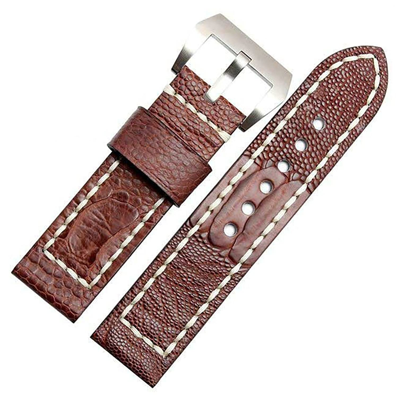 [エイト]腕時計ベルト 24mm ブラウン レザー ELB051 [並行輸入品]  B01MYYX511
