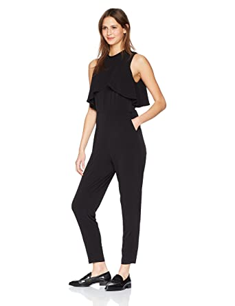 1f8be6d8fe02 Amazon.com  CATHERINE CATHERINE MALANDRINO Women s Sen Jumpsuit ...