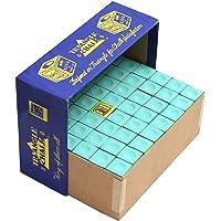 Laxmi Ganesh Billiard Triangle Chalk for Snooker and Pool CUE 144 Piece (Green)