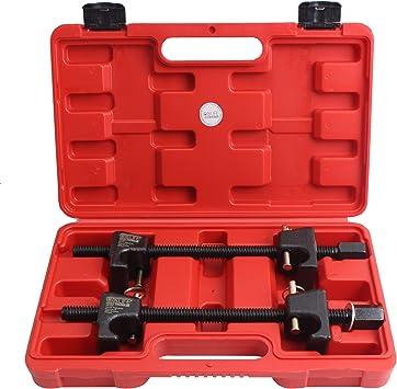 Cclife 2 Tlg Profi Federspanner Tuning Tieferlegung Montagespanner 300mm Auto