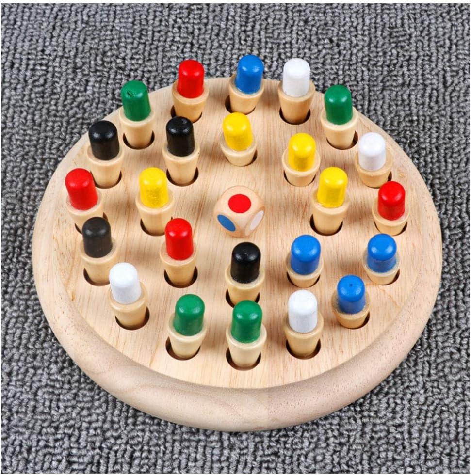 Dr Nouveaux Jouets intelligents /éducatifs d/échecs de Matchstick de m/émoire en Bois Li Jeu de b/âton de Match de m/émoire en Bois int/éressant