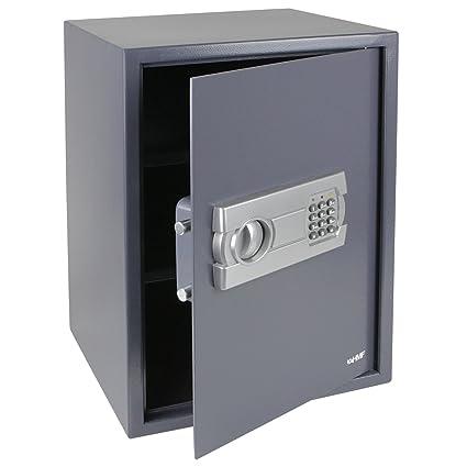 HMF - Caja fuerte (cerradura electrnica, 500 x 350 x 330 mm)