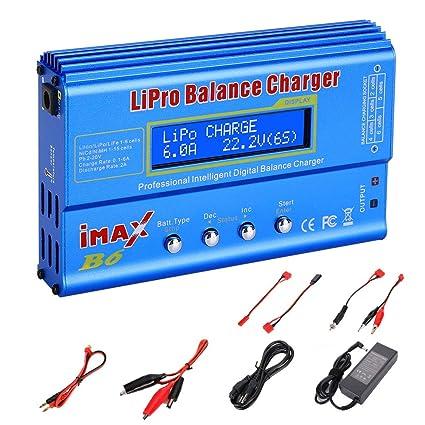 Amazon.com: EYESKY iMax B6 - Cargador de batería para LiPo ...