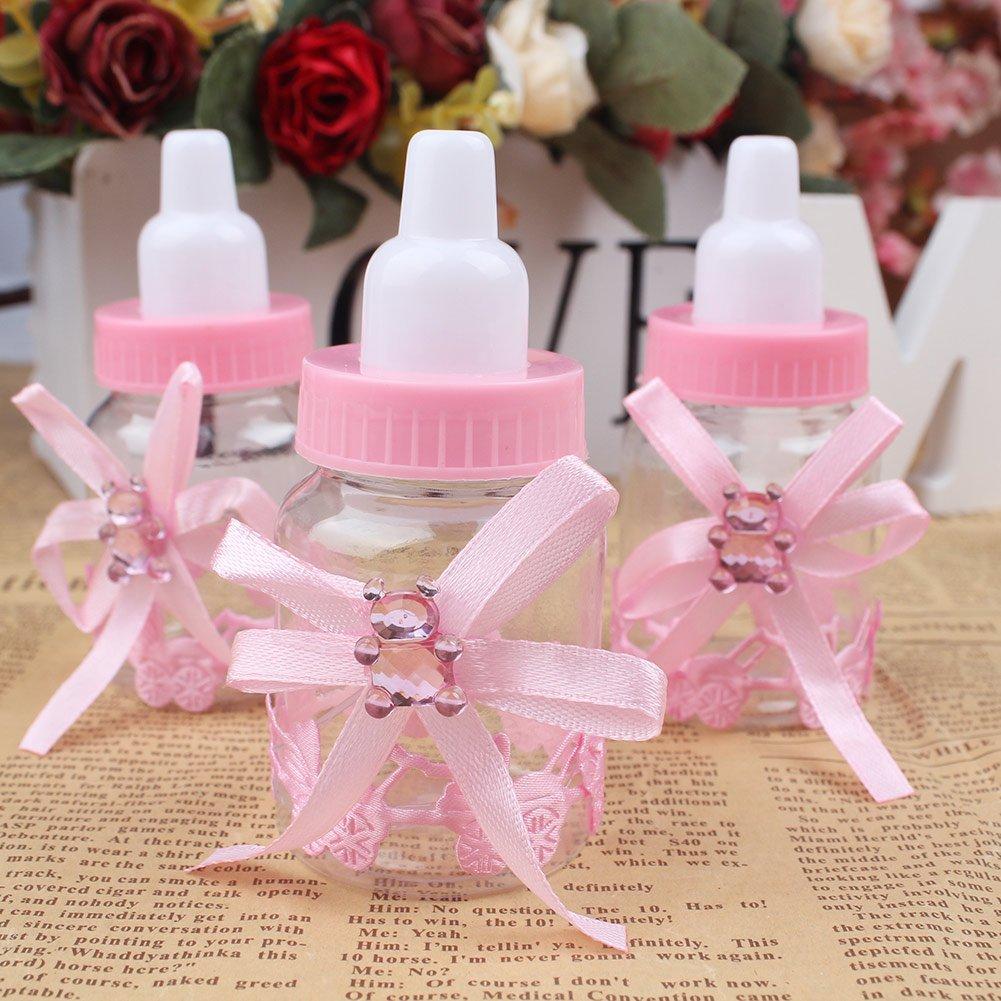 Amazon.com: Aparty4u - 48 unidades de mini botellas de ...