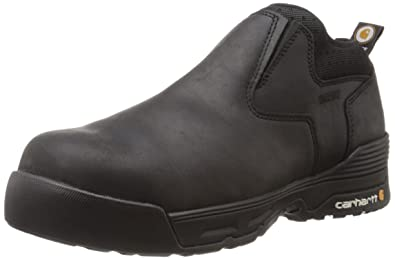 623954a8f5ca Carhartt Men s Force Romeo-M Black Coated Leather 8 ...