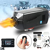 SUDOO 5KW Air Diesel Heater 12V Portable Diesel Heater Parking Heater Fast Heating 10L Tank with Remote Control LCD…