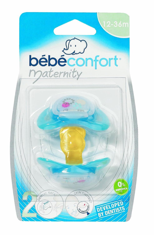 Bebe Confort 30000703 - Chupetes 2 Dental Safe Látex T2 ...