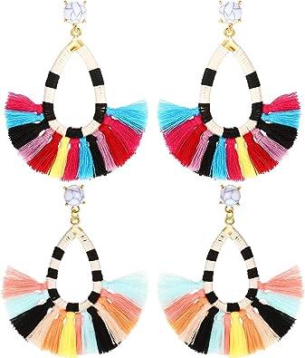 9 paires Boucles d/'oreilles Set Simple Fashion Boucles d/'oreilles Femme Casual Bijoux Boucles d/'oreilles filles