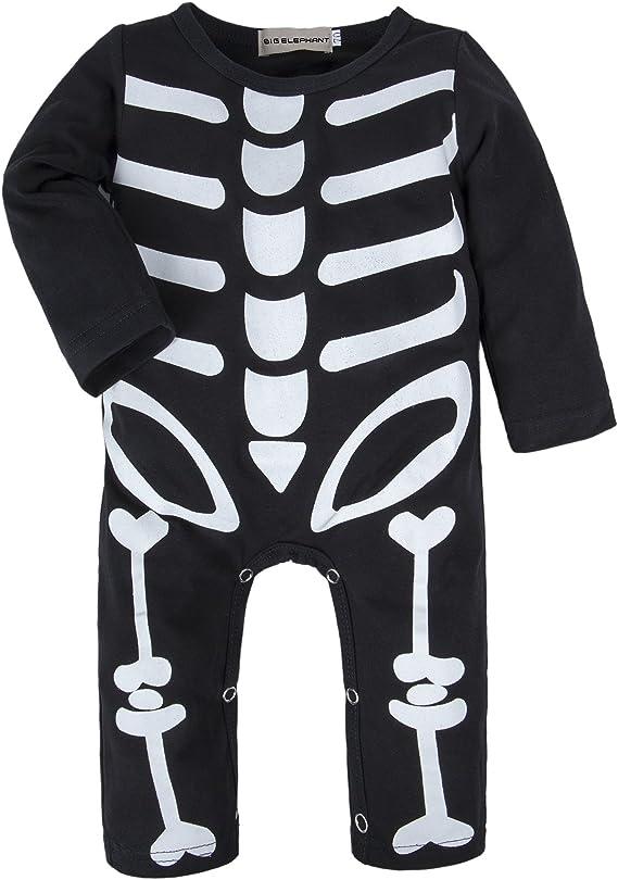 BIG ELEPHANT Baby Boys1 Piece Long Sleeve Cute Romper Pajama U55C