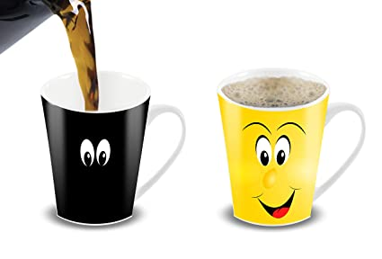 Color For Coffee Your Mug12 And CortunexMorning Or Heat OunceChanging Mug Sensitive Novelty FriendCeramic WDH9IE2