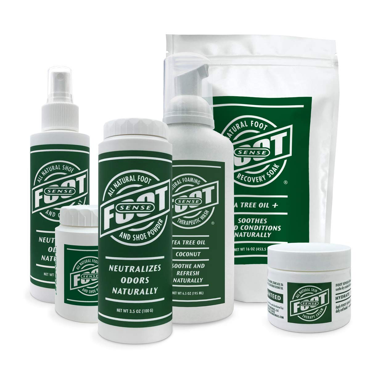 Natural Shoe Deodorizer Powder & Foot Odor Eliminator - for Smelly Shoes, Body, Stinky Feet. Use for Jock Itch and Athletes Foot.
