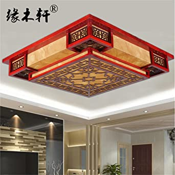 BRIGHTLLT Chinesische Decke lampen Wohnzimmer Licht square ...