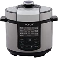Aufla Smart Electric Cooker 5L with Stainless Steel Pot (Touch Screen Panel)