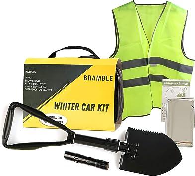 Bramble 6 Pack Kit de Emergencia Coche, Invierno - Asistencia en ...