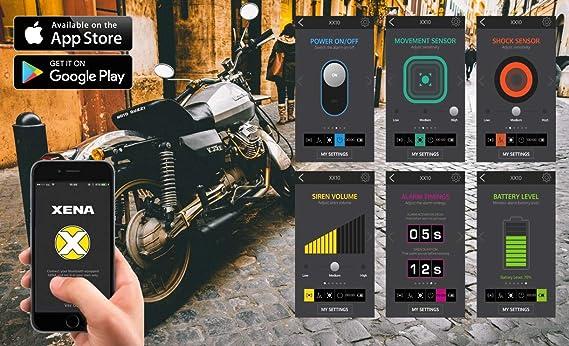 DISC Lock MIT Alarm Xena XX15 Bluetooth SRA