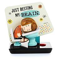Hallmark PAJ1139 Peanuts Peppermint Patty Just Resting My Brain Musical Figurine