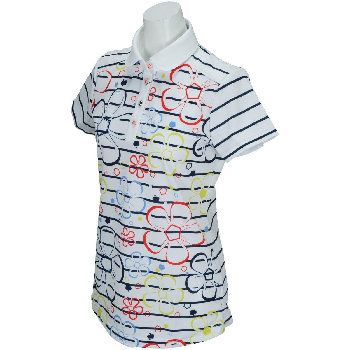 セントクリストファー St.Christopher 半袖ポロシャツ ゴルフウェア レディース tl32106 38 ホワイト B06XT9JC4W