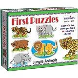 Creative's First Puzzles - Jungle Animals, Multi Color